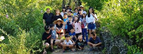수안빛지역아동센터 아이들 단체사진