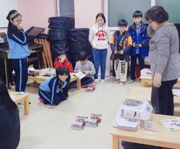 찔레꽃 아이들의  '보고 듣고 만지고 즐기는 로봇세상' 로봇과학수업